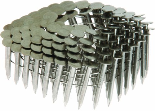 Grip Rite Prime Guard Max MAXC62852 1-1/4-Inch Coil Roofing 304 Smooth Shank, Stainless Steel, 7200-Pack