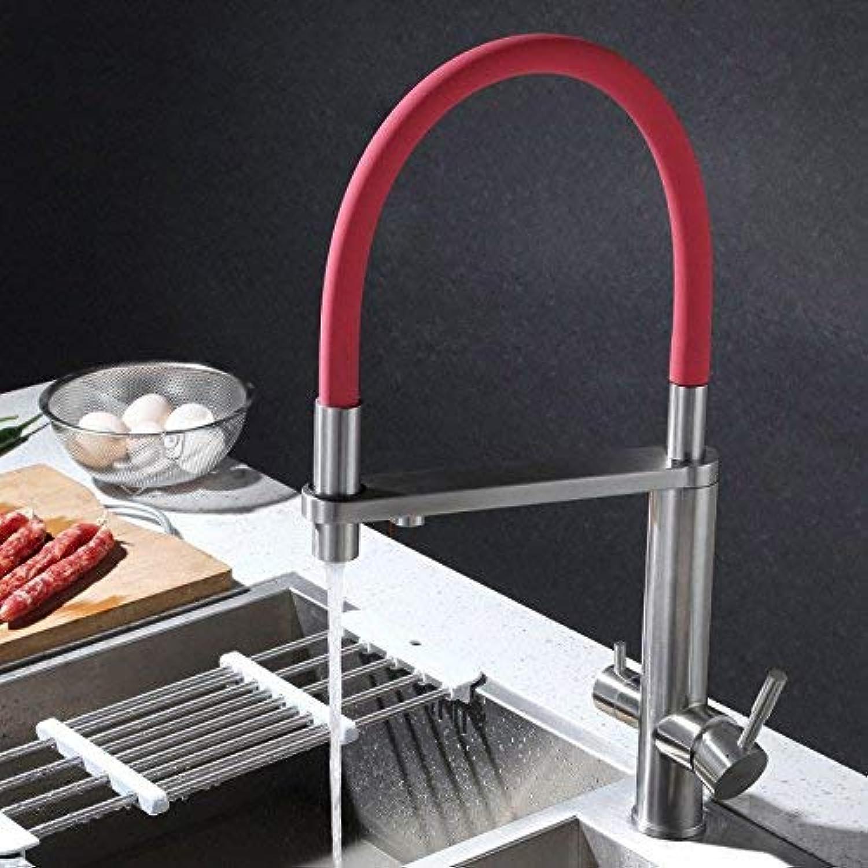 Oudan Küchenmischbatterien s304 Edelstahl-Przisionsguss Filter-ss (Farbe   -, Gre   -)