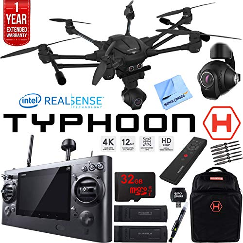 Yuneec Typhoon H, most stable 4k camera drone