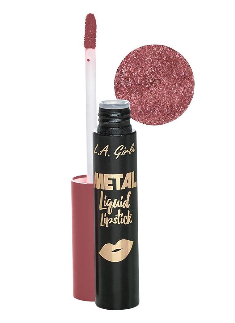 船外サイドボード寛大なL.A. GIRL Metal Liquid Lipstick - Illuminate (並行輸入品)