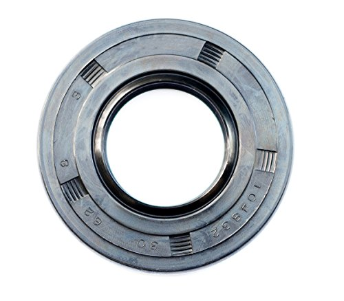 EAI Oil Seal 30mm X 62mm X 8mm TC Double Lip w/Spring. Metal Case w/Nitrile Rubber Coating