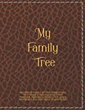 My Family Tree: Record of family up to 5 Generations with Family tree diagram, Event timeline, Individual family unit, Quick reference, DNA test results and notes for journaling your find