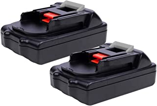 2 Pack 18V 1.5Ah BL1815 Lithium-Ion Replacement for Makita 18V Battery BL1815N BL1820 BL1830 BL1840 BL1845 BL1850 BL1850B-2 LXT-400 18-Volt Cordless Power Tools Batteries