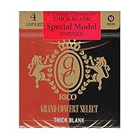リード グランドコンサートセレクト シックブランク Bbクラリネット アンファイルド 硬さ:4(10枚入)