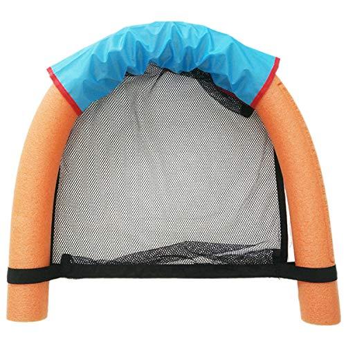 SANON Sling Mesh Stuhl für Schwimmbadnudeln Schwimmbad Nudelstuhl für Erwachsene (Pool Nudeln Nicht Enthalten)
