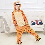 Pijama Unicornio Muchachas de los bebés Pijama de Franela Caliente Pijamas Animal Niños Unicornio Puntada Panda Onesie Ropa de Noche de los niños Pijamas de niños de Cosplay (Color : G, Size : 4T)