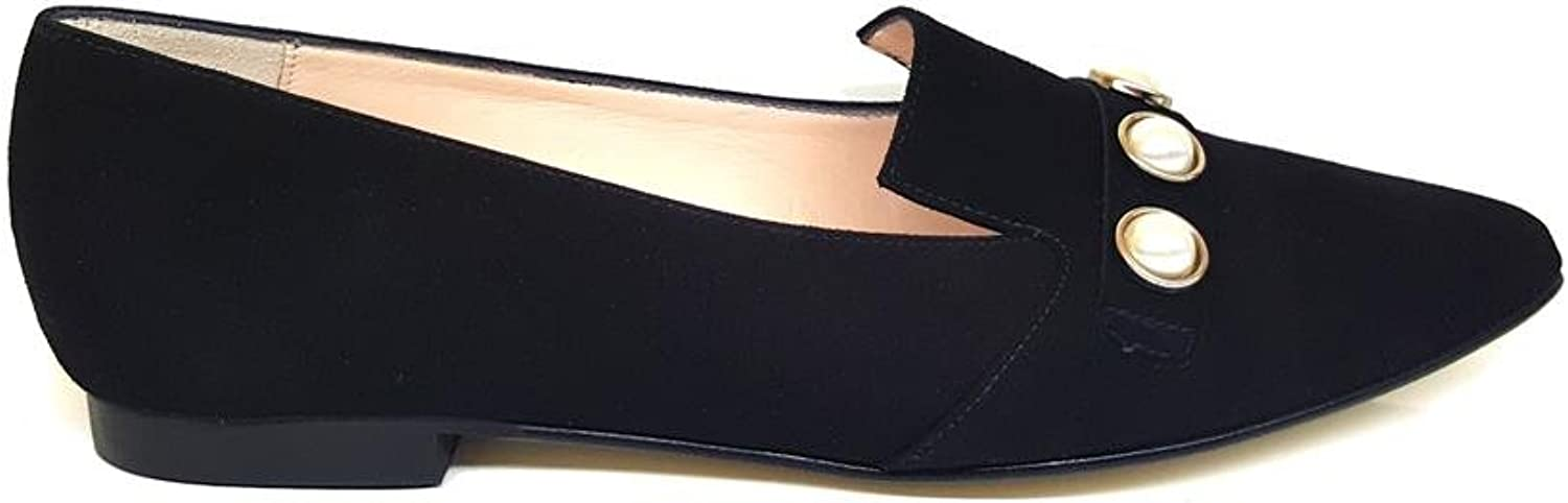GENNIA Vicky. - Women Leather Ballerina Ballet Flats