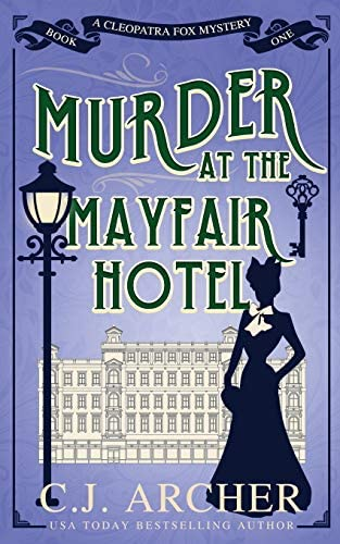 Murder at the Mayfair Hotel Cleopatra Fox Mysteries product image
