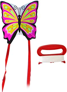 TOYANDONA Long Tail Kite Butterfly Kite Flying Kite Toy with 30m String for Children Kids Park Garden Playground Beach Out...