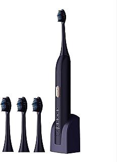 Inteligentna elektryczna szczoteczka do zębów, 5 trybów czyszczenia, wodoodporna bezprzewodowa szczoteczka indukcyjna Para...