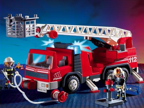 PLAYMOBIL Feuerwehrleiterfahrzeug
