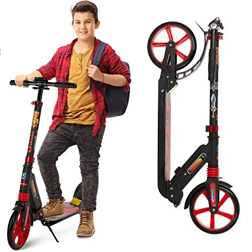 Scooter for Kids Ages 6-12 - Scooters for Teens 12 Years and Up - Adult Scooter with Anti-Shock...