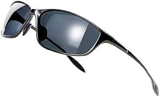 Polarized Sport Sunglasses for Men UV Protection Metal Frame Fashion Driving Sun Glasses