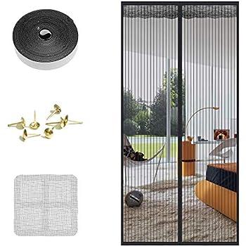 Fabur 210 * 90cm Mosquitera Magnética para Puertas, Mosquitera Puerta Magnetica para Puertas Cortina de Sala de Estar la Puerta del Balcón Puerta: Amazon.es: Bricolaje y herramientas