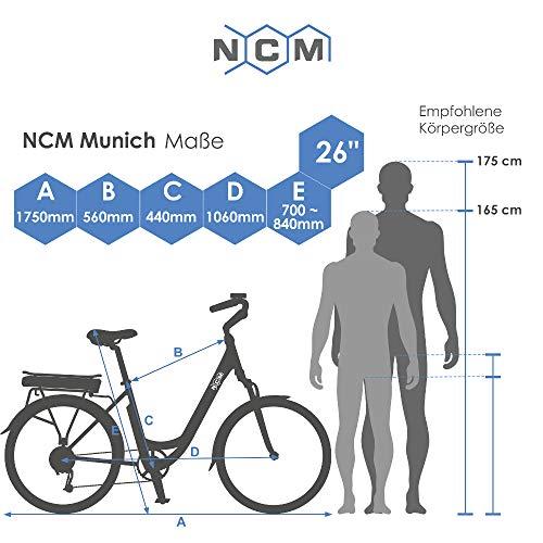 E-Trekkingbike NCM Munich 36V 26″ / 28″ Bild 2*