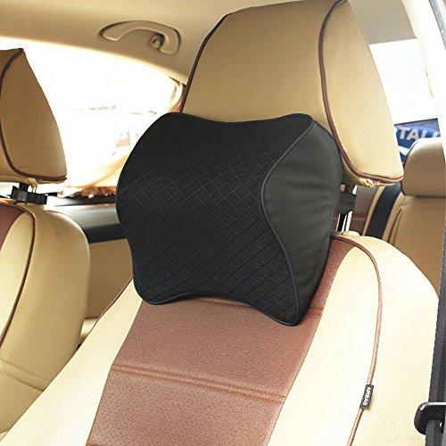 ZATOOTO ネックパッド 車 クッション 低反発 ヘッドレスト 旅行 運転 LY0135B