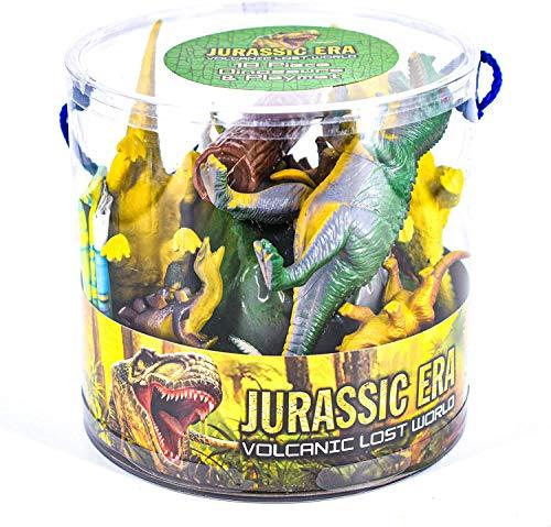 18-częściowy dinozaur w wannie