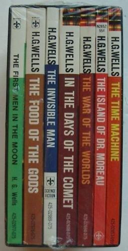 H.G. Wells Seven Science Fiction Novels, Boxed Set