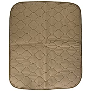 EZwhelp Machine Washable, Reusable Pee Pad/Quilted, Fast Absorbing Dog Whelping Pad/Waterproof Puppy Training Pad/Housebreaking Absorption Pads