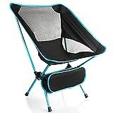 Diealles Shine Silla Plegable Camping Silla Portátil al Aire Libre con Bolsa de Transport para Jardín, Playa, Pesca, Camping, Viajes, Senderismo