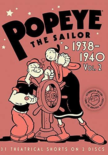 Dvd - Popeye The Sailor: 1938-1940 Vol 2 (2 Dvd) [Edizione: Stati Uniti] (1 DVD)