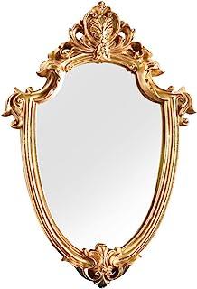 FENGMI Specchi Decorativi for Il Sole Specchio for Trucco Wal Specchio con Cornice in Metallo Dorato Salotti e Specchi for Decorazioni da Parete for Camera da Letto