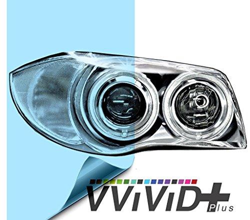 VViViD Air-Tint Blue Headlight/Tail Light Window Tint (12 Inch x 24 Inch)