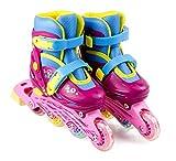 Funbee Rollers Colors en Ligne - Taille Ajustable 34-37 - Dès 6 Ans - D'arpèje - OFUN032-C