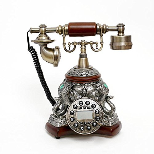 PST@ European antique radio home fashion creative retro cute fixed landline phones
