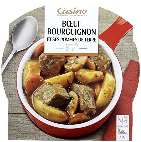 CASINO Bœuf Bourguignon Pommes d...