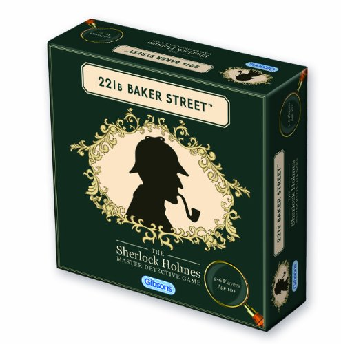 Gibsons Games - 221b Baker Street, Gioco d'investigazione [Lingua Inglese]
