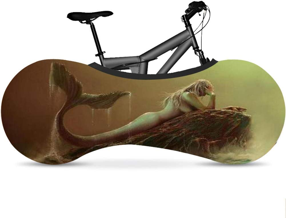 Q-YR Max 82% OFF Dust-Proof Mountain Bike Portland Mall Wheel for Cover Storage Indoor Mou