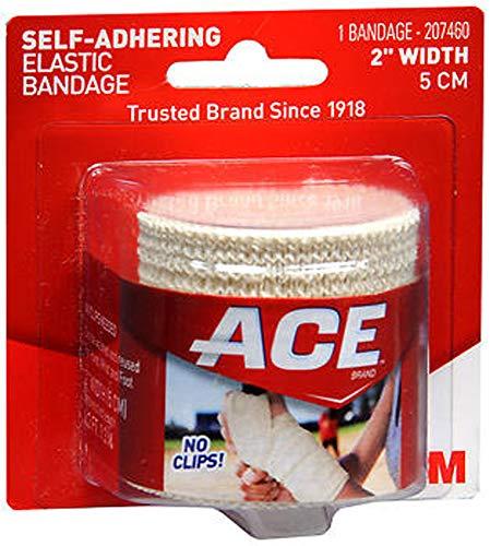 Ace Self-Adhering Elastic Bandage 2 Inch Width, Pack of 2
