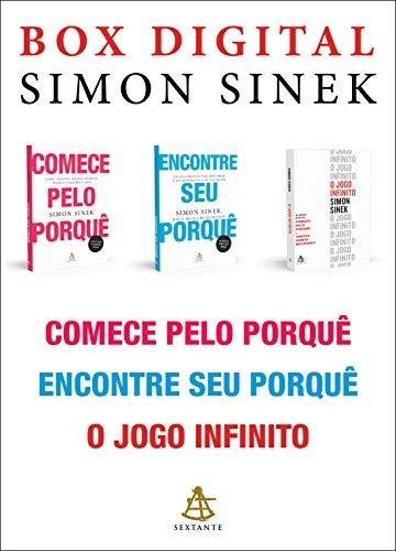 Coleção Simon Sinek: Comece pelo porquê • Encontre seu porquê • O jogo infinito