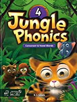 JUNGLE PHONICS 4 STUDENT BOOK WITH STUDENT DIGITAL MATERIALS