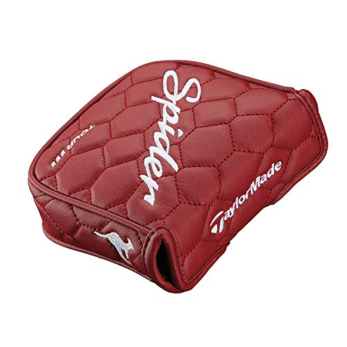 Spider New Taylormade Tour Red Heel Shafted Mallet Putter Headcover