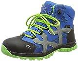 McKINLEY Unisex-Kinder Santiago Pro Aquamax Trekking-& Wanderstiefel, Grün (Green Lime/Blue Dark 906), 33 EU