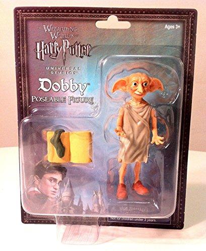 Wizarding World of Harry Potter Dobby Elf Poseable Action Figure 3 Pc. Set image