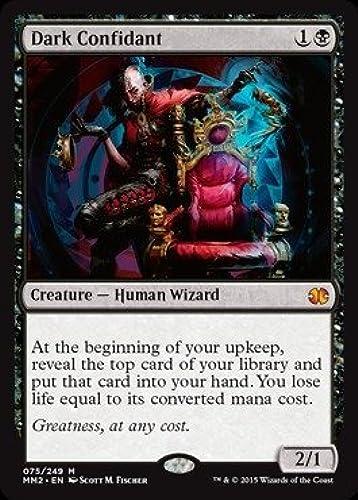 a precios asequibles Magic  The Gathering oscuro oscuro oscuro confidente Modern Masters 2015 Lámina  forma única