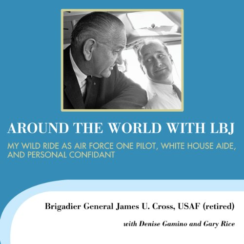 Around the World with LBJ audiobook cover art
