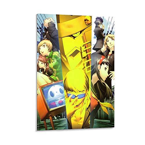 Shin Megami Tensei Persona 4 poster su tela e stampa artistica da parete Modern Family camera da letto Decor poster 60 x 90 cm