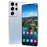Oferta De Smartphone del Día Ofertas De Android 11 5G (2021) 4GB + 64GB 32MP Cámara 6.7 Pulgadas Dual SIM 6800mAh OTG Teléfono Móvil [Clase De Eficiencia Energética A +++],White