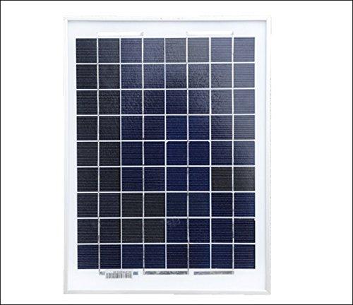 Solarpaneel, monokristallin, 50Watt inkl. Laderegler
