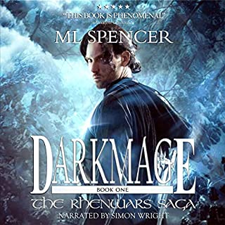 Darkmage audiobook cover art