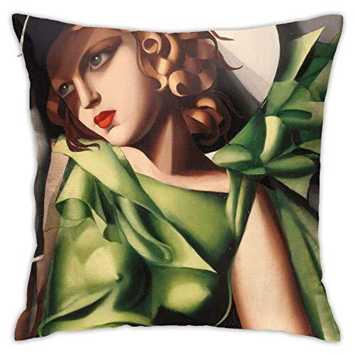 Given Yaoi - Funda de almohada decorativa de anime, funda de cojín de 45 x 45 cm, almohada suave para sala de estar, funda de almohada cuadrada para sofá