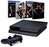 Contenu : Console PlayStation 4 + Metal Gear Solid V : The Phantom Pain + Steelbook exclusif Amazon Call of Duty : Black Ops III + Steelbook exclusif Amazon