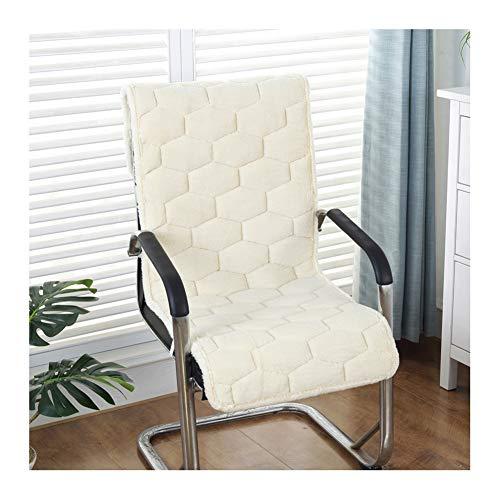 Cuscini per sedia a dondolo in vimini di peluche, con schienale alto, per patio, ufficio, panchina, divano, auto 50x135cm(20x53inch) Beige
