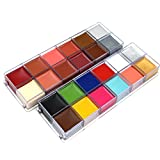 Body Paint 24 Colors Cosmetics Face Body Painting Pigment Oil Art Makeup Cosplay Party Flash Tattoo Body Paint Color …