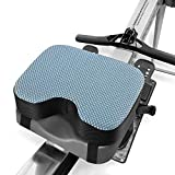 Kohree Rowing Machine Seat Cushion for Concept 2, Model D & E, Indoor Water Rower Machine Seat Pad with Washable Cover, Thicker Memory Foam and Straps for Exercise Recumbent Stationary Bike
