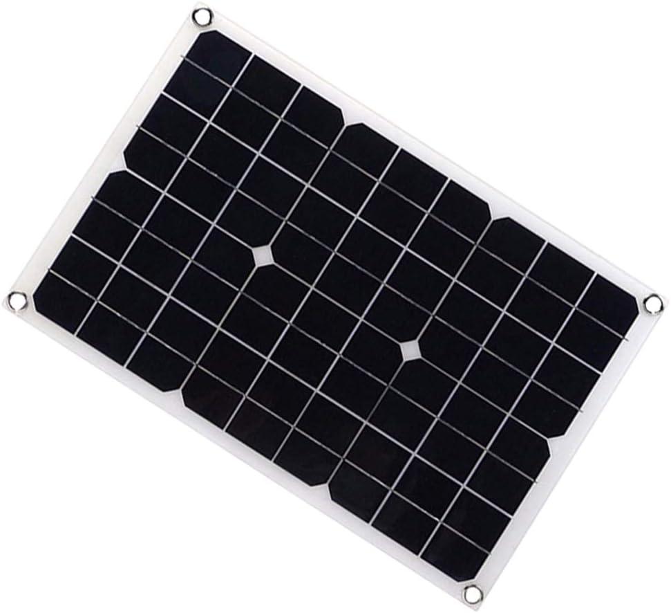 Ovovo 20 Shipping included Watt 18 Volt Monocrystalline Solar Ultra Panel Ligh Kit Branded goods